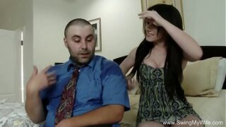 Slutty wife happy to try new cock Long Video
