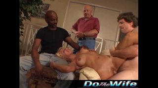 DoTheWife group sex wife